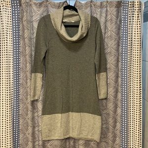 Athleta cowlneck sweater dress
